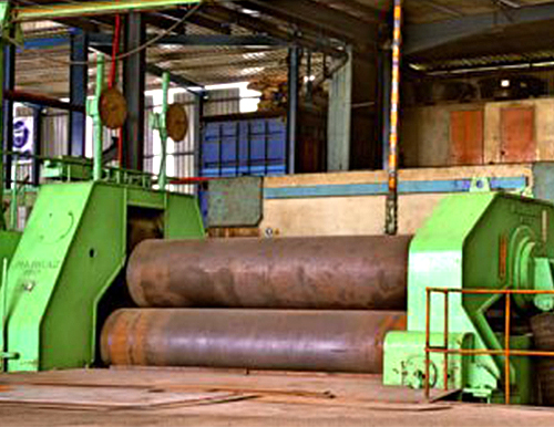 75 mm x 3600 (L) Rolling Machine