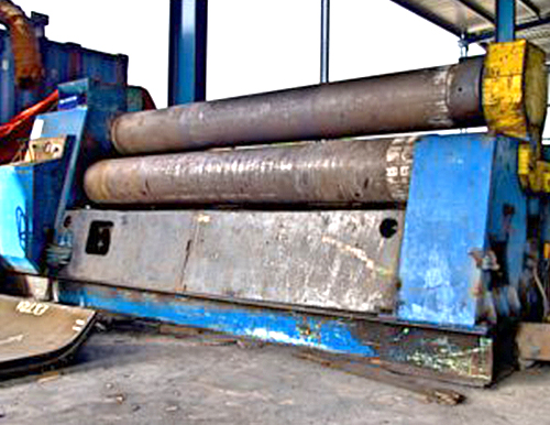 25mm x 3100mm (L) Hydraulic Rolling Machine