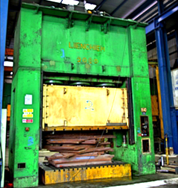Hydraulic Press 2000tons x 4000mm (L)